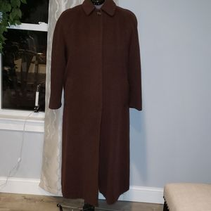Vtg Missoni 12 Brown Long Coat